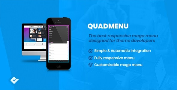 QuadMenu - Themes Developer Mega Menu - CodeCanyon Item for Sale