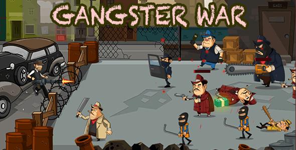 GANGSTER WAR - UNITY COMPLETE GAME