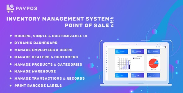 Pay POS - Sales and Inventory Management System - CodeCanyon Item for Sale