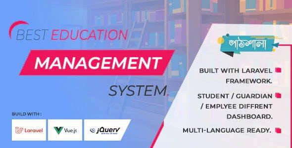 Pathshala - laravel school management system - elearning