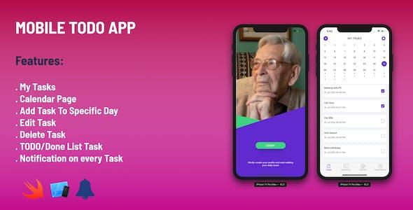 Todo Simple App - IOS