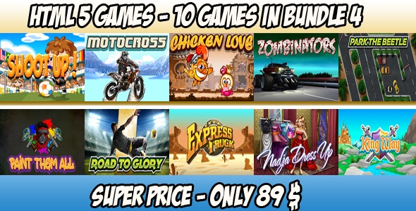 Casual 10 games - Bundle 4 - CodeCanyon Item for Sale
