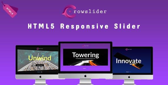 Crowslider - HTML5 Responsive Slider