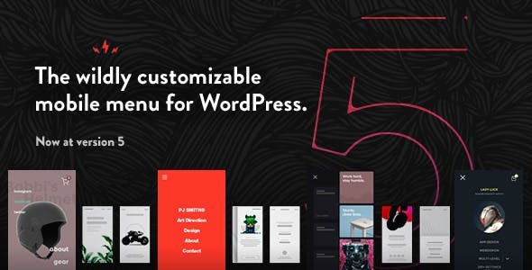 TapTap: A Super Customizable WordPress Mobile Menu