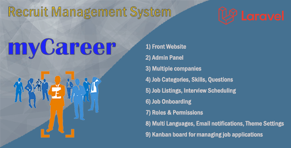 myCareer – Recruit Management System - CodeCanyon Item for Sale