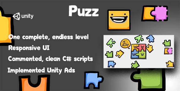 Puzz- Complete Unity Game - CodeCanyon Item for Sale