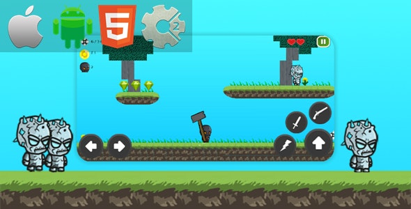 Mystery Adventures - HTML5 Game + Mobile Version! (Construct 3 / Construct 2 / Capx) - CodeCanyon Item for Sale