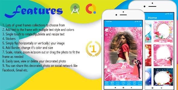Anniversary Photo Frames Creator(Android App)