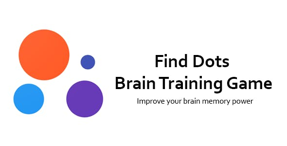 Find Dots - Brain Training Game | Best Puzzle Game | Admob | Push Notification | Analytics
