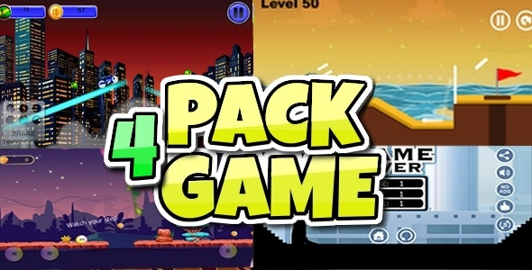 NEW PACK 4 GAME BUILDBOX PROJECT EASY RISKING - CodeCanyon Item for Sale