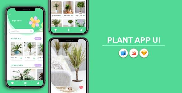 Plant App - iOS UI Design