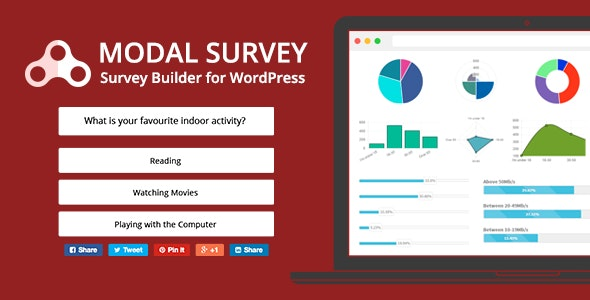 Modal Survey - WordPress Poll, Survey & Quiz Plugin - CodeCanyon Item for Sale