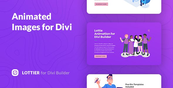Lottier – Lottie Animated Images for Divi Builder