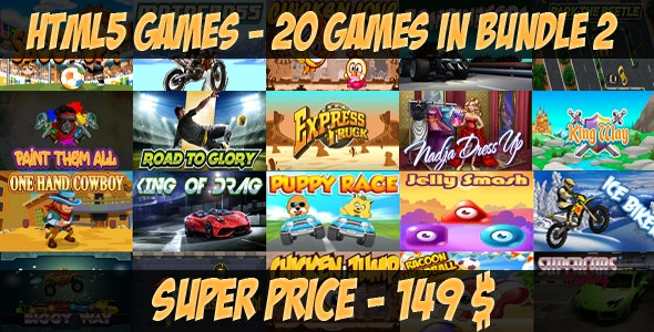 Casual 20 games - Bundle 2 - CodeCanyon Item for Sale