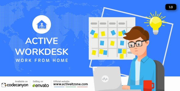 Active Workdesk CMS - CodeCanyon Item for Sale