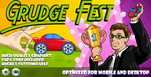Grudge Fest (C2,C3,HTML5) Game. - CodeCanyon Item for Sale
