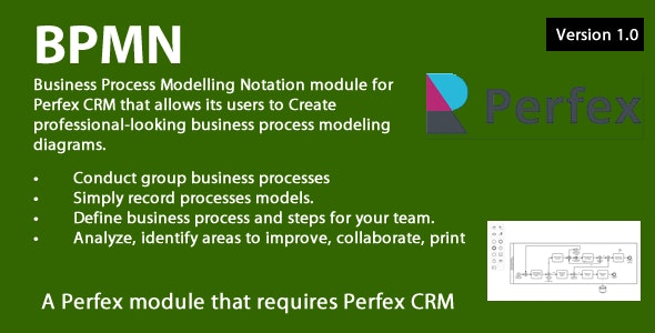 Business Process Modelling module for Perfex CRM - CodeCanyon Item for Sale