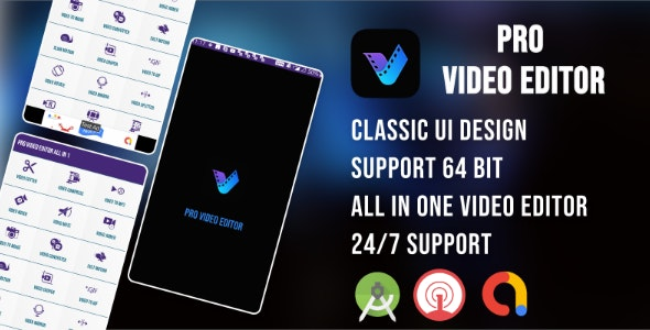 Pro Video Editor - CodeCanyon Item for Sale