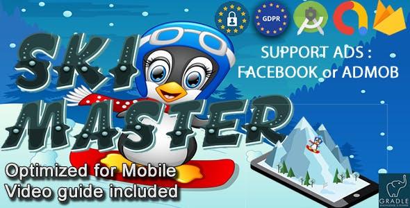 SKI MASTER V2 (Facebook Ads + Admob + Android Studio)