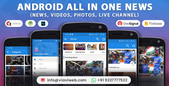 All In One News (News, Videos, Photos, Live Channel)
