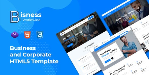Bisness - Business and Corporate HTML5 Template