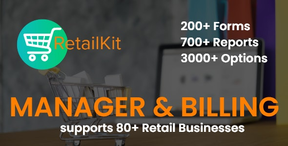RetailKIT - Retail POS (Manager & billing) - CodeCanyon Item for Sale