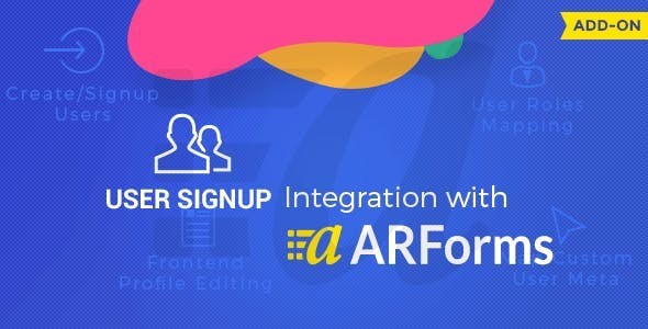 User Signup for Arforms