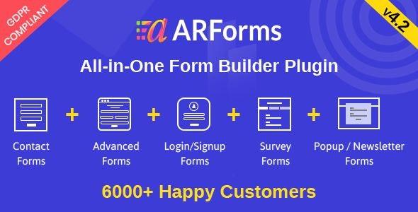 ARForms v4.2 NULLED – form builder for WordPress