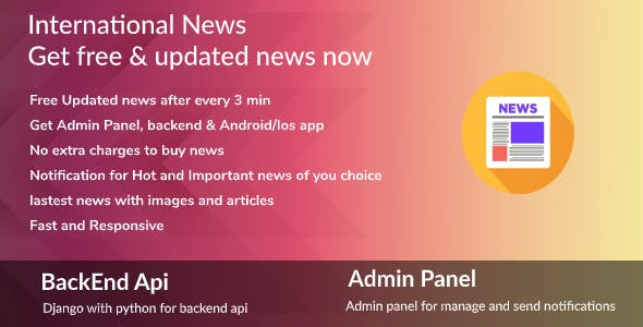 Flutter News Complete App, Android Ios News App