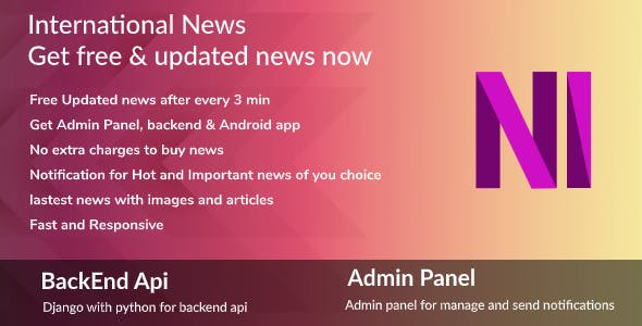 Android News Application ,Daily Free News Complete Android App