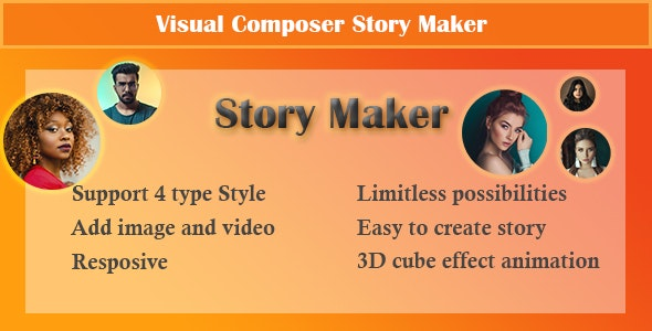 Visual Composer - Story Maker - CodeCanyon Item for Sale