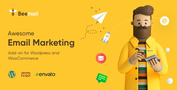 BeeMail - Email Marketing Plugin for WordPress & WooCommerce - CodeCanyon Item for Sale