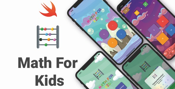 Math For Kids   Full iOS Game - CodeCanyon Item for Sale
