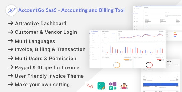 AccountGo SaaS - Accounting and Billing Tool - CodeCanyon Item for Sale