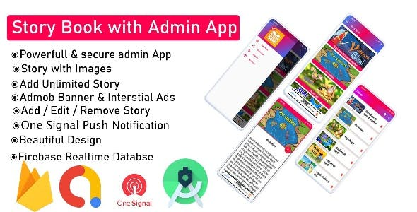 Story Book App Template With Source code
