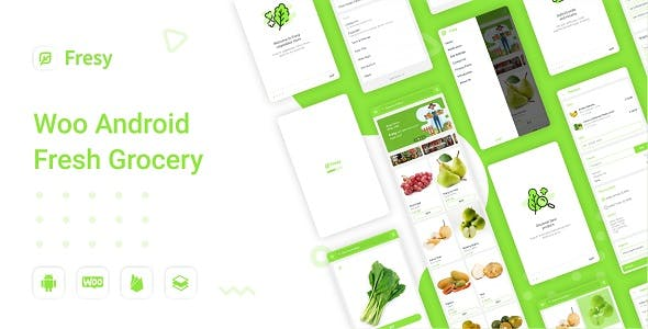 Fresy - Woocommerce Android Fresh Grocery 1.0