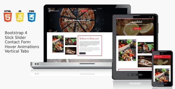 Responsive HTML5 Template - Cheesy Bites Restaurant