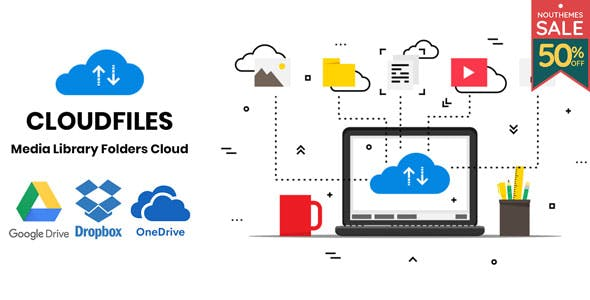 Cloudfiles – WordPress Media Library Folders Cloud