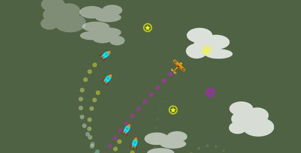 Unity Game Template - Endless Missile