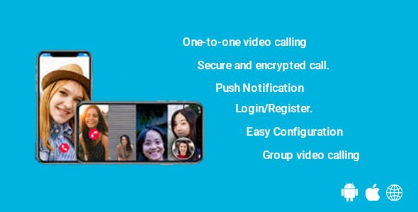 AeroMeet - Flutter Video Conference And One to One chat App for Android And iOS