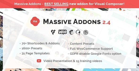 Massive Addons for WPBakery Page Builder