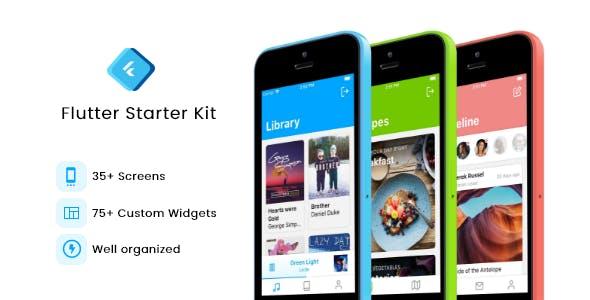Flutter Starter Kit (UI Kit)