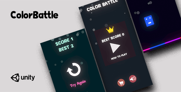 ColorBattle - Complete Unity Game