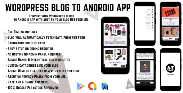 Wordpress Blog to Android App with RSS feed