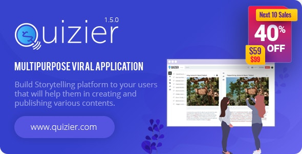 Quizier Multipurpose Viral Application - CodeCanyon Item for Sale
