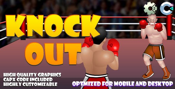 Knock Out (C2,C3,HTML5) Game.