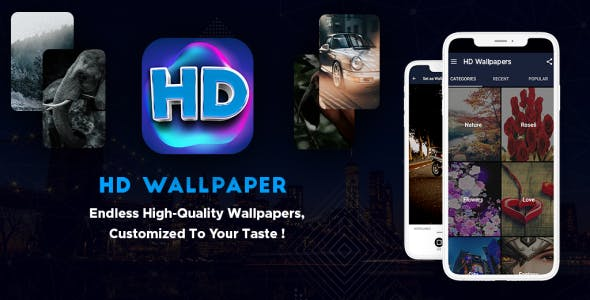 HD Wallpaper with Admin Panel