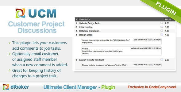Client Project Discussion - CodeCanyon Item for Sale