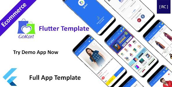 Flutter E-commerce App Template - Flipkart Clone Flutter - GoKart