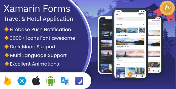 Govo Travel App | Xamarin Forms